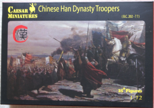 Caesar Miniatures 1/72 CMH043 Chinese Han Dynasty Troops (Ancients)